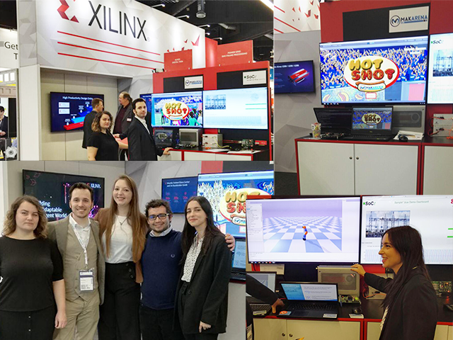 SPS Nuremberg 2019 Xilinx stand