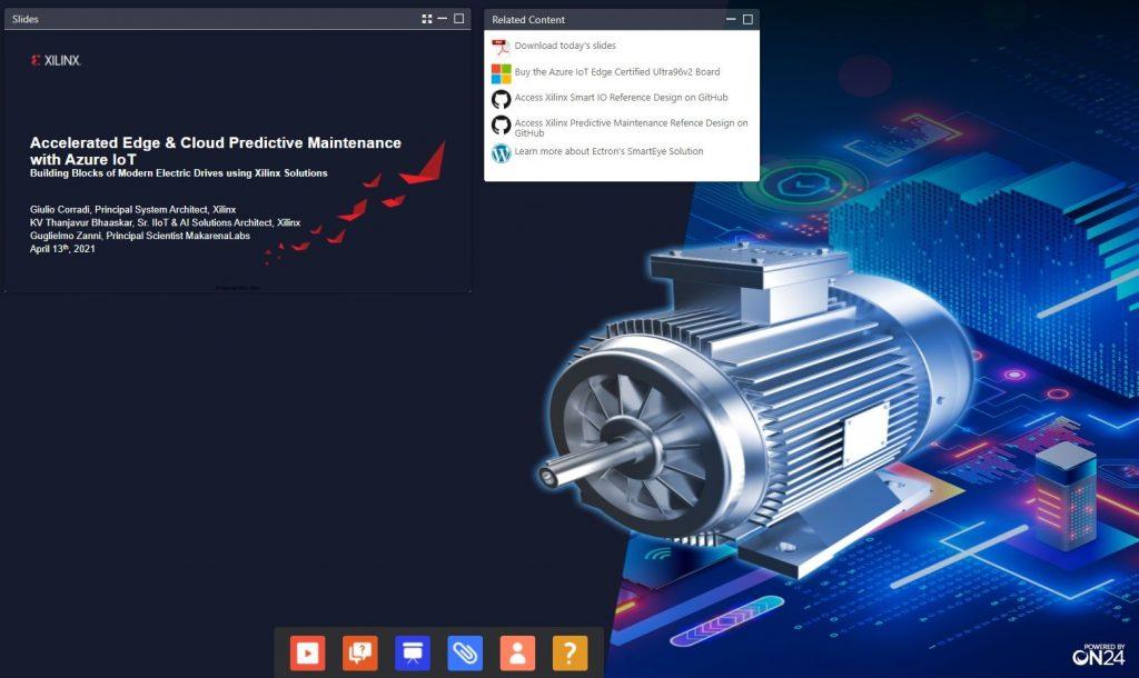 Webinar Predictive Maintenance Azure IoT - 13/04/2021